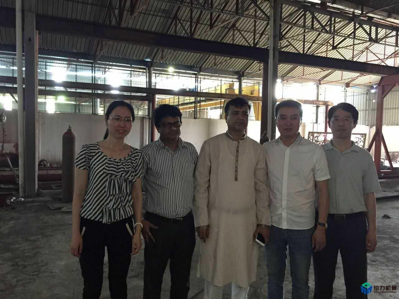 孟加拉螺纹钢生产线顺利投产