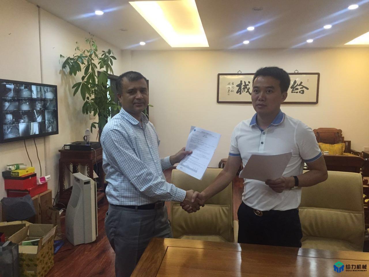 菲律宾客户成功签约年产20万吨型材生产线
